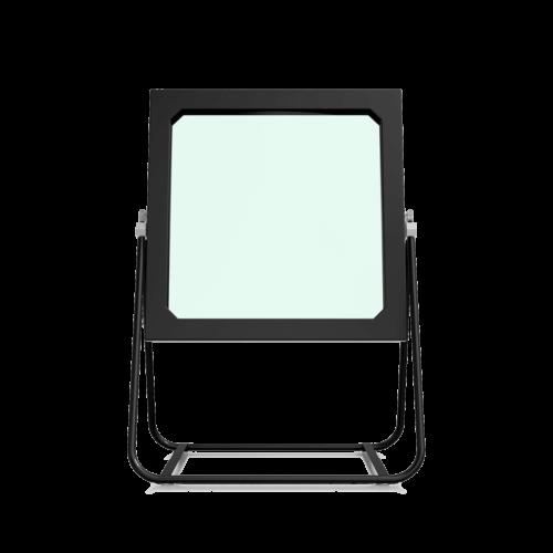 Optique sur Support DeepFrame Basic de Face, Vitrine Holographique Realfiction, Dreamoc