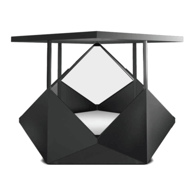 Dreamoc Diamond de Face, Vitrine Holographique Realfiction, DeepFrame