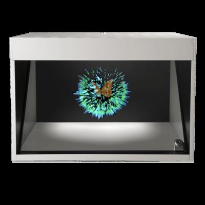 Dreamoc POP3 avec animation, Vitrine Holographique Realfiction, DeepFrame